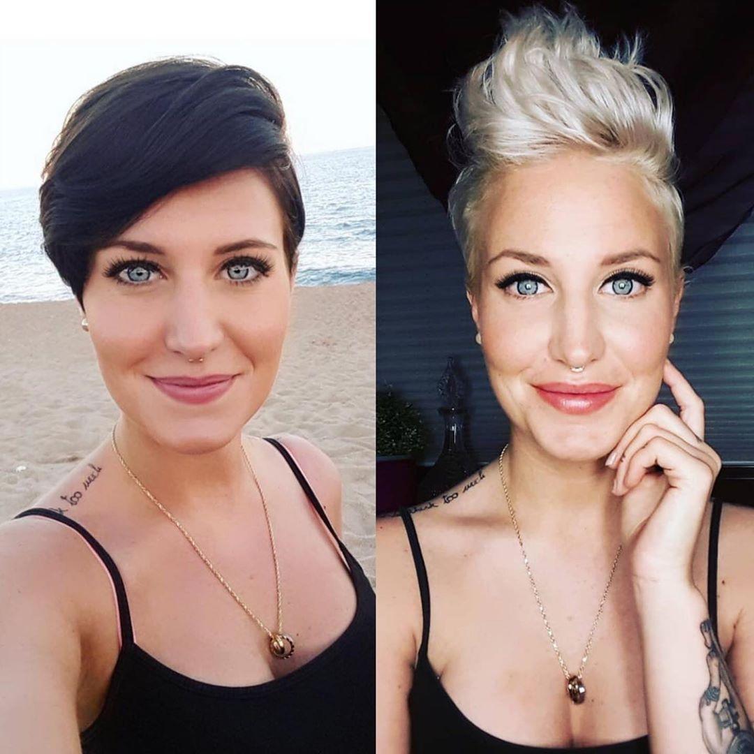 Ideen für Haartrends für Frauen 2021 - Frisurentick
