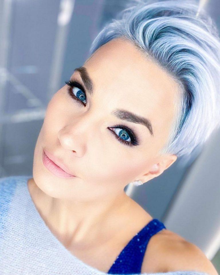 Elegante Frauen Haarschnitte Hinterm Ohr - Frisurentick